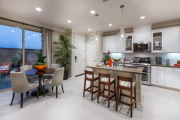 Gourmet kitchen in new luxury home | Holiday at New Haven in Ontario Ranch, CA | Brookfield Residential