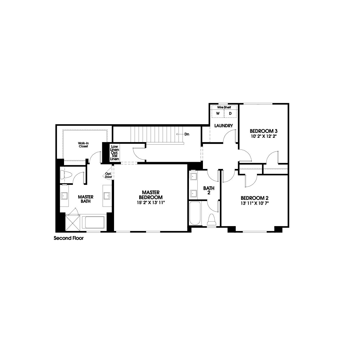 Second floor residence 5 floor plan | Holiday at New Haven in Ontario Ranch, CA | Brookfield Residential