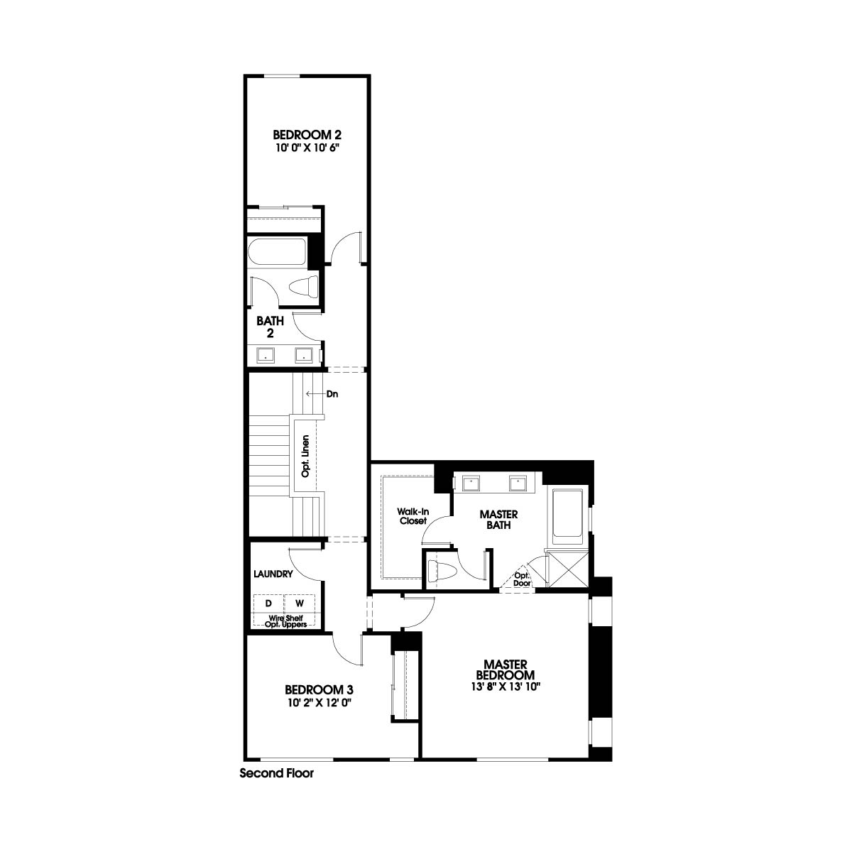 Second floor residence 6 floor plan | Holiday at New Haven in Ontario Ranch, CA | Brookfield Residential