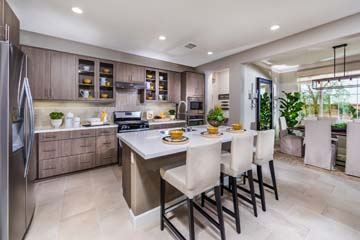 Kitchen Dining Room Residence 1 | Marigold at New Haven in Ontario Ranch, CA | Brookfield Residential