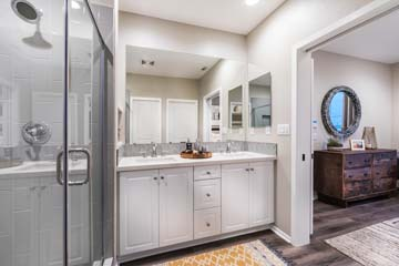 Master Bath Residence 1 | Solstice at New Haven in Ontario Ranch, CA | Brookfield Residential