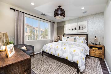 Master Bedroom Residence 1 | Solstice at New Haven in Ontario Ranch, CA | Brookfield Residential