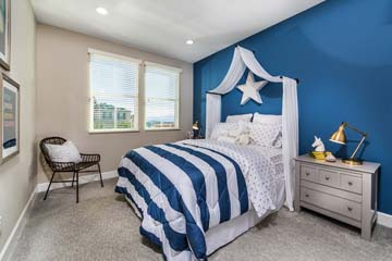 Bedroom Residence 3 | Solstice at New Haven in Ontario Ranch, CA | Brookfield Residential