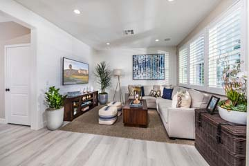 Great Room Residence 3 | Solstice at New Haven in Ontario Ranch, CA | Brookfield Residential