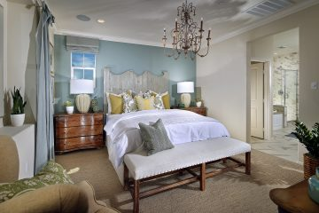 Master bedroom in luxury home | Waverly at New Haven in Ontario Ranch, CA | Brookfield Residential