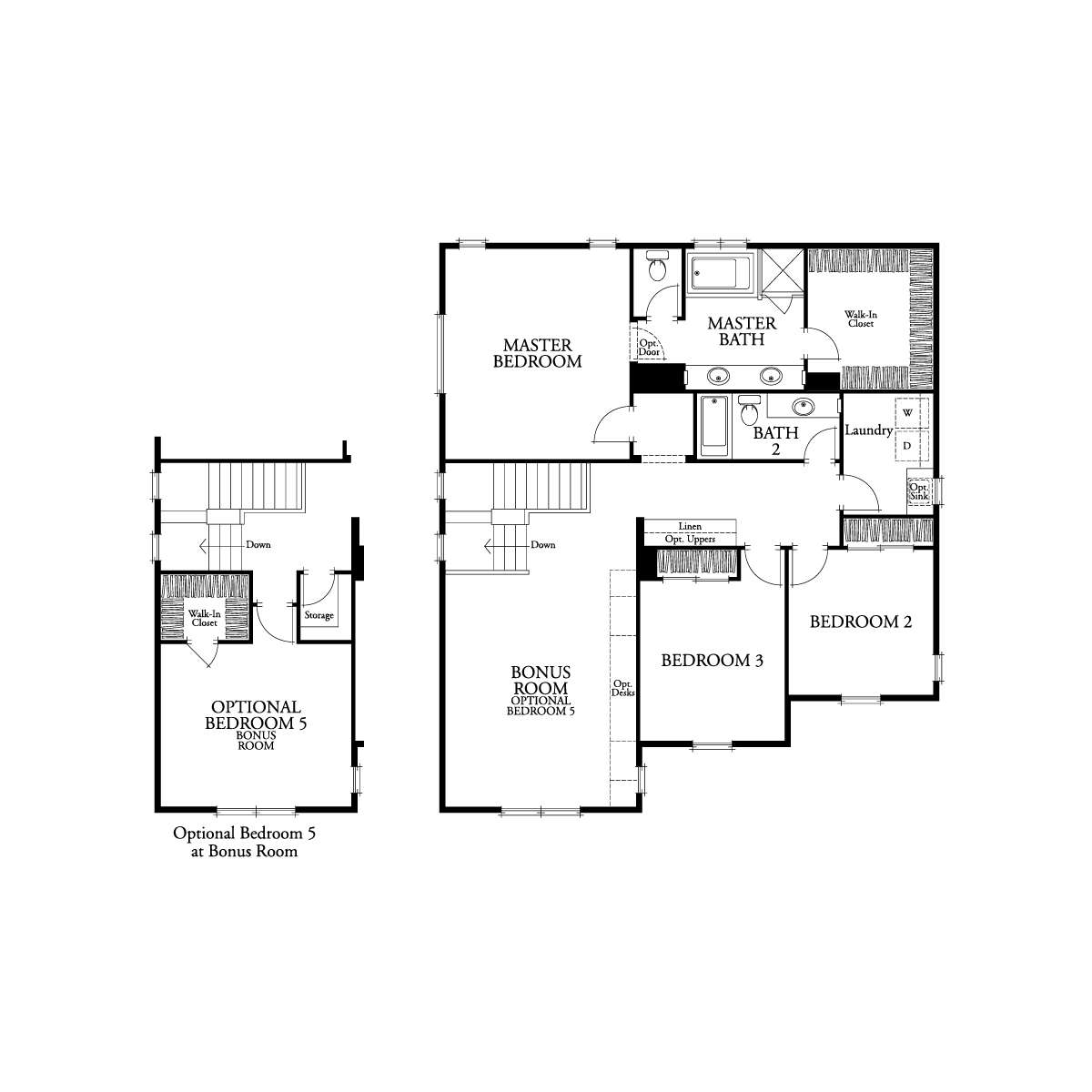 Second floor residence 3 floor plan | Waverly at New Haven in Ontario Ranch, CA | Brookfield Residential