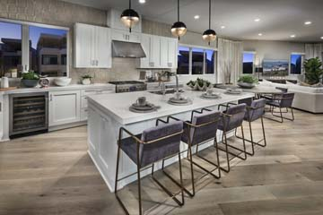 Dining Residence 1 | The Collection at Playa Vista in Los Angeles, CA | Brookfield Residential