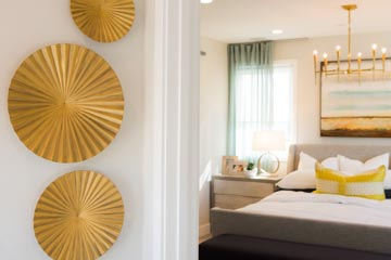 Bedroom | The Collection at Playa Vista in Los Angeles, CA | Brookfield Residential