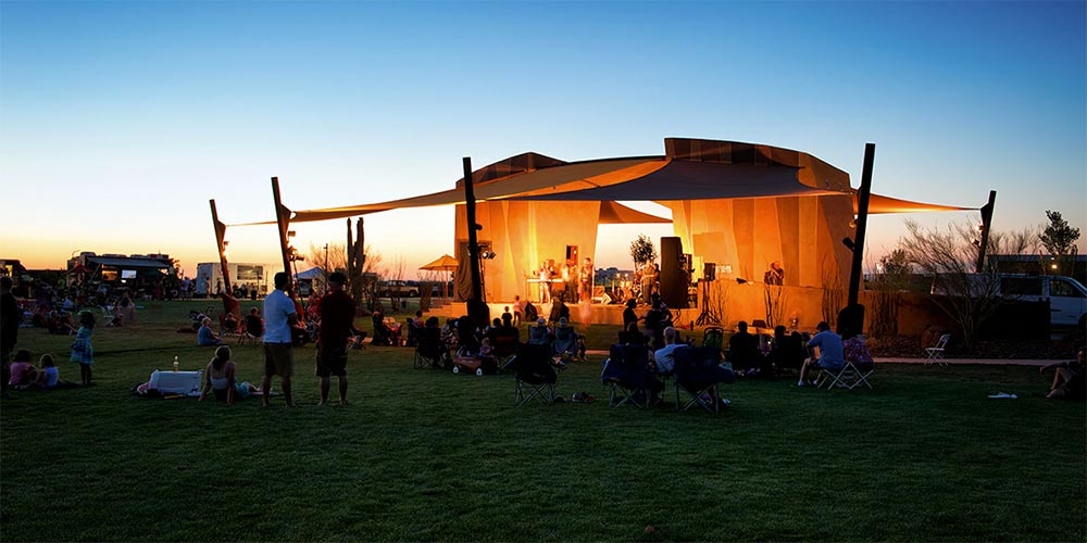 Outdoor event in Phoenix, AZ | Brookfield Residential