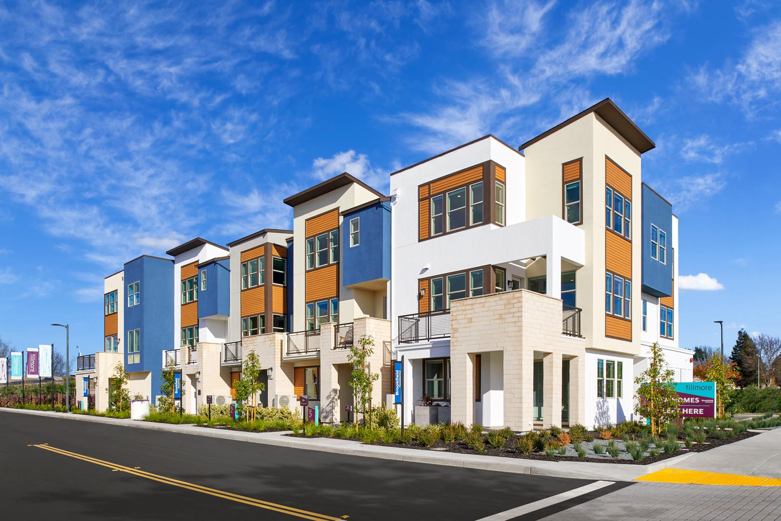 4-plex exterior | Fillmore at Boulevard in Dublin, CA | Brookfield Residential
