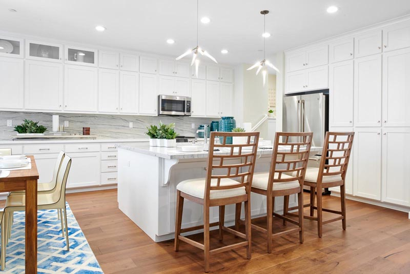 Residence 1 Kitchen | Fillmore at Boulevard in Dublin, CA | Brookfield Residential