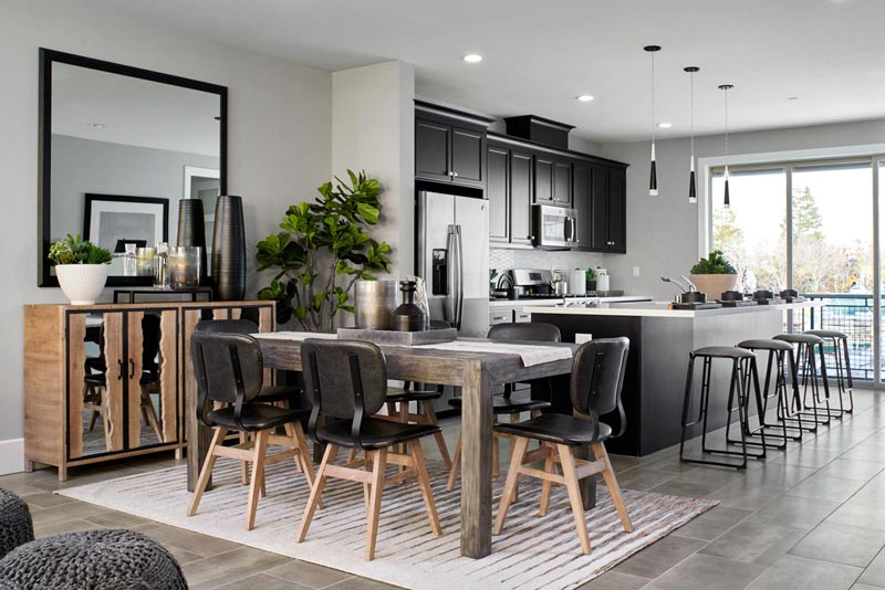 Residence 2 Kitchen | Fillmore at Boulevard in Dublin, CA | Brookfield Residential