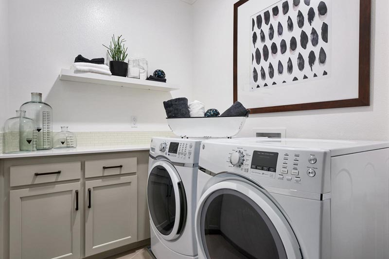 Residence 3 Laundry Area | Fillmore at Boulevard in Dublin, CA | Brookfield Residential