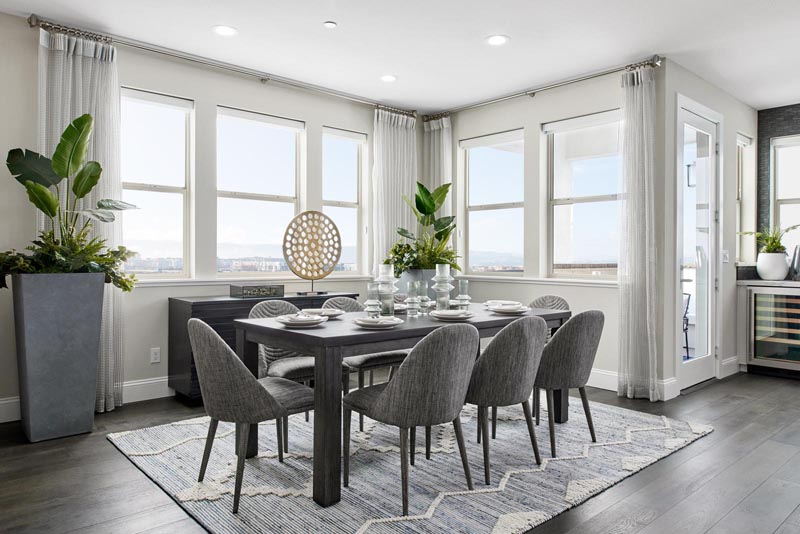 Residence 4 Dining Room | Fillmore at Boulevard in Dublin, CA | Brookfield Residential