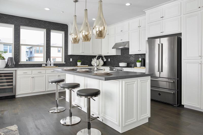 Residence 4 Kitchen | Fillmore at Boulevard in Dublin, CA | Brookfield Residential