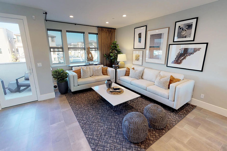Virtual tour new home residence 2 Fillmore at Boulevard Dublin, CA Brookfield Residential