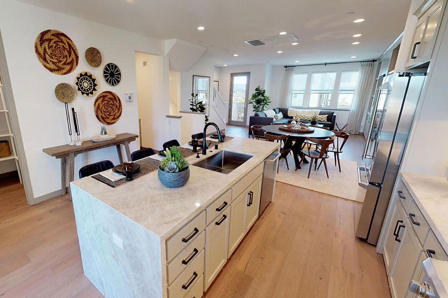 Virtual tour new home residence 3 Fillmore at Boulevard Dublin, CA Brookfield Residential