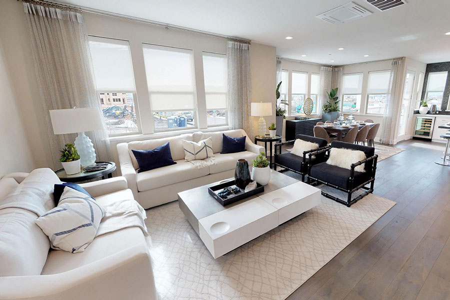 Virtual tour new home residence 4 Fillmore at Boulevard Dublin, CA Brookfield Residential