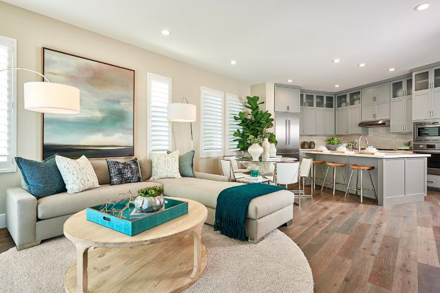 Great Room | Huntington at Boulevard in Dublin, CA | Brookfield Residential