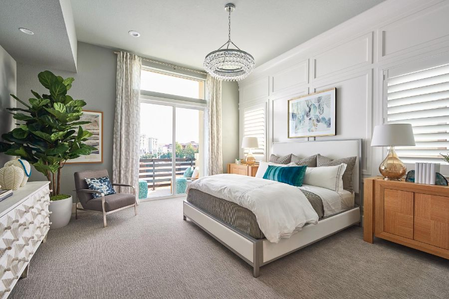 Master Bedroom | Huntington at Boulevard in Dublin, CA | Brookfield Residential