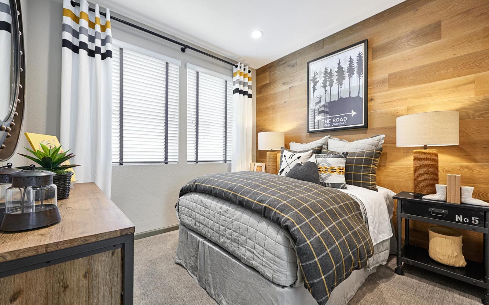 Guest Bedroom Huntington at Boulevard in Dublin CA Brookfield Residential