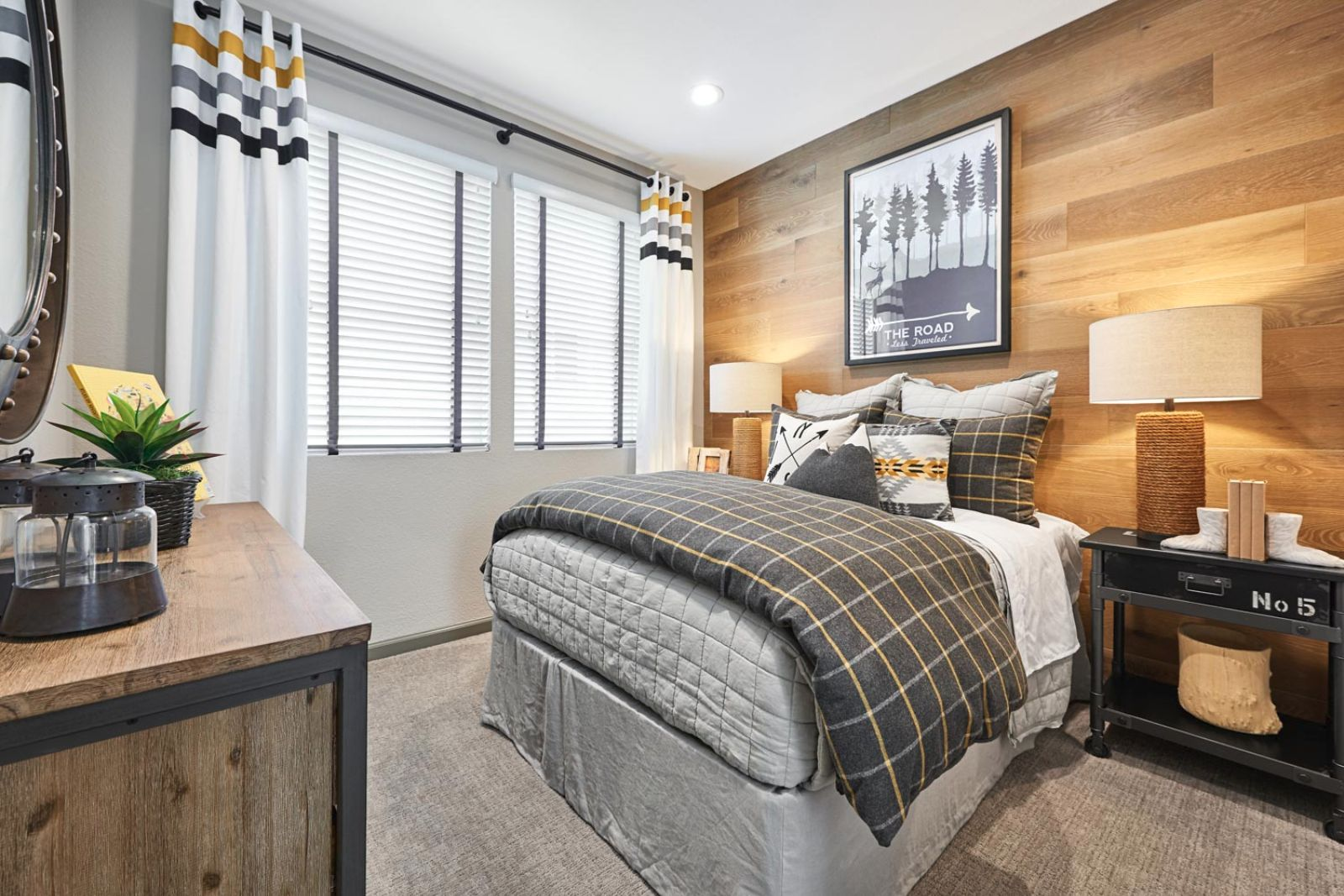 Guest Bedroom | Huntington at Boulevard in Dublin, CA | Brookfield Residential