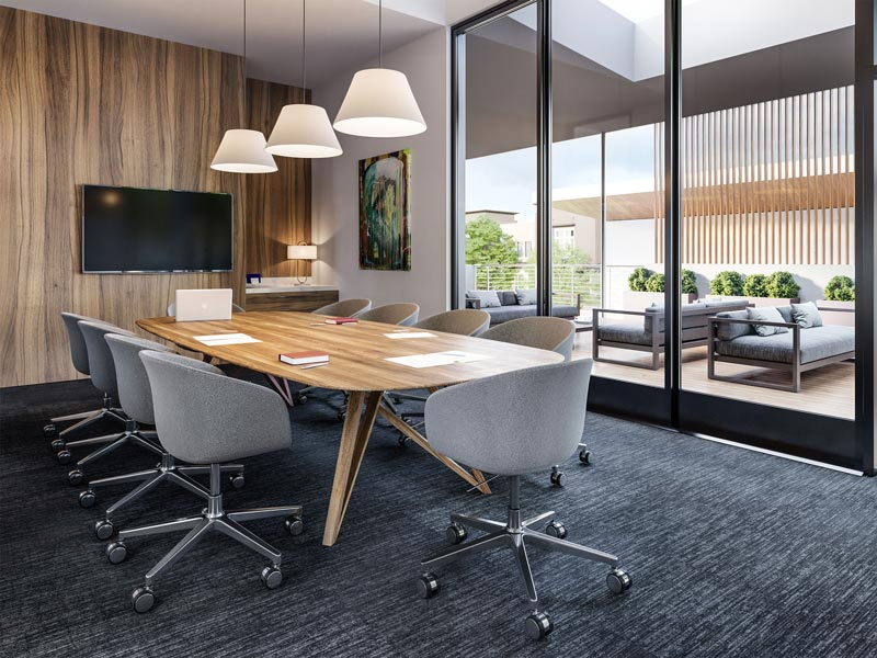 Rec Center Conference Room | Boulevard in Dublin, CA | Brookfield Residential