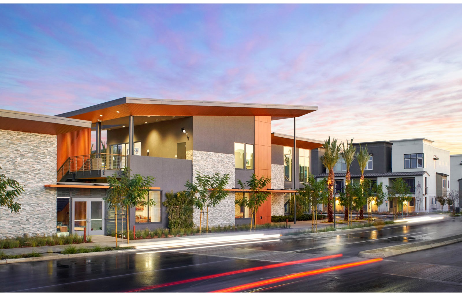 Rec Center Exterior | Boulevard in Dublin, CA | Brookfield Residential