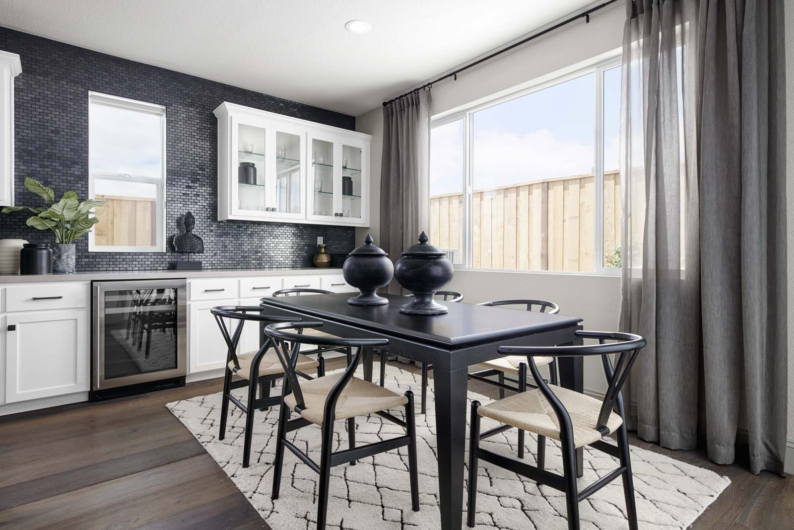 Residence 1 Dining Room | Mulholland at Boulevard in Dublin, CA | Brookfield Residential