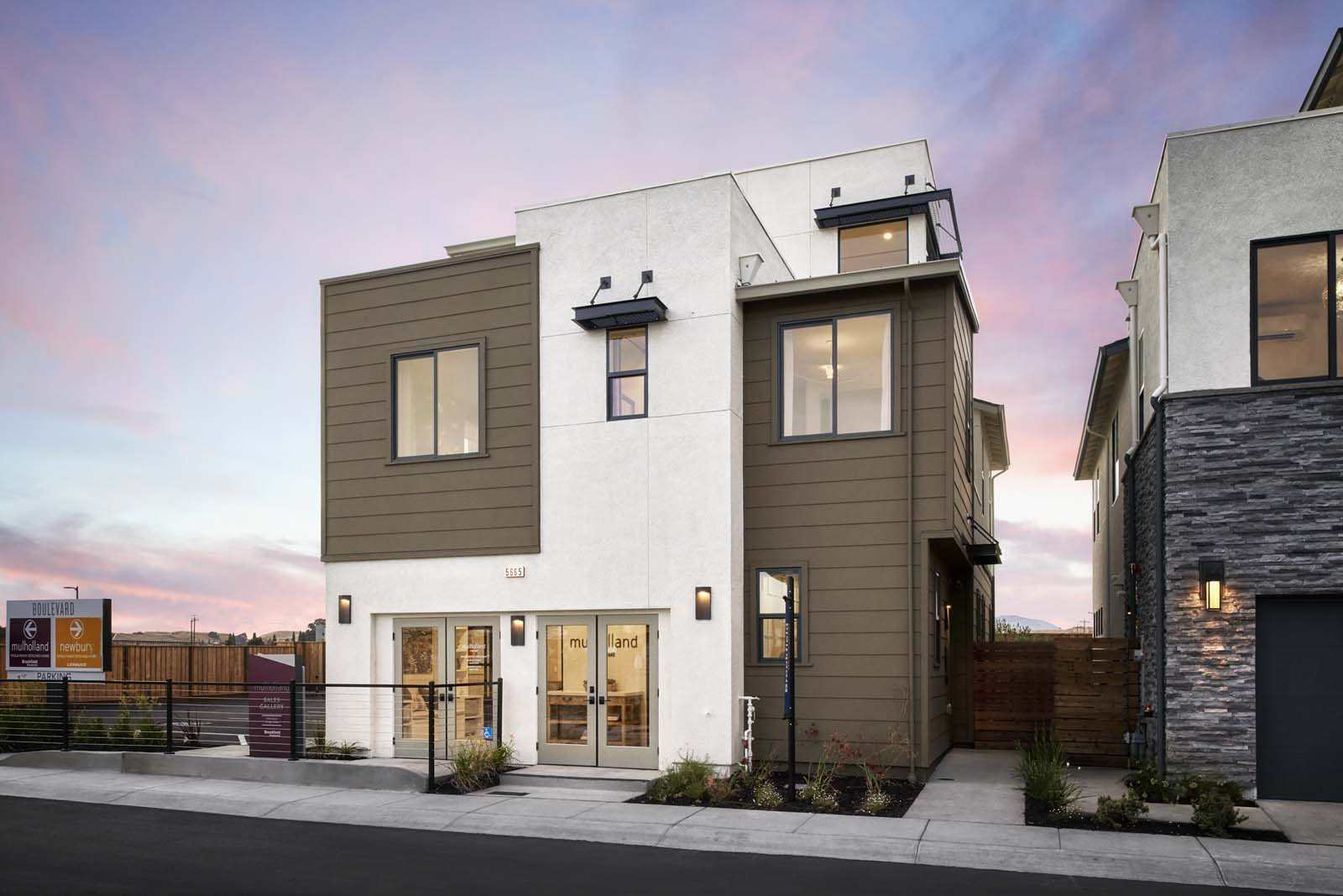 Residence 1 Exterior | Mulholland at Boulevard in Dublin, CA | Brookfield Residential