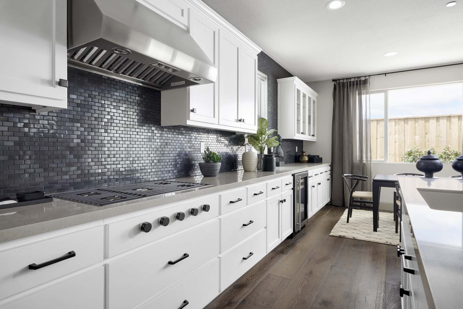 Residence 1 Kitchen | Mulholland at Boulevard in Dublin, CA | Brookfield Residential