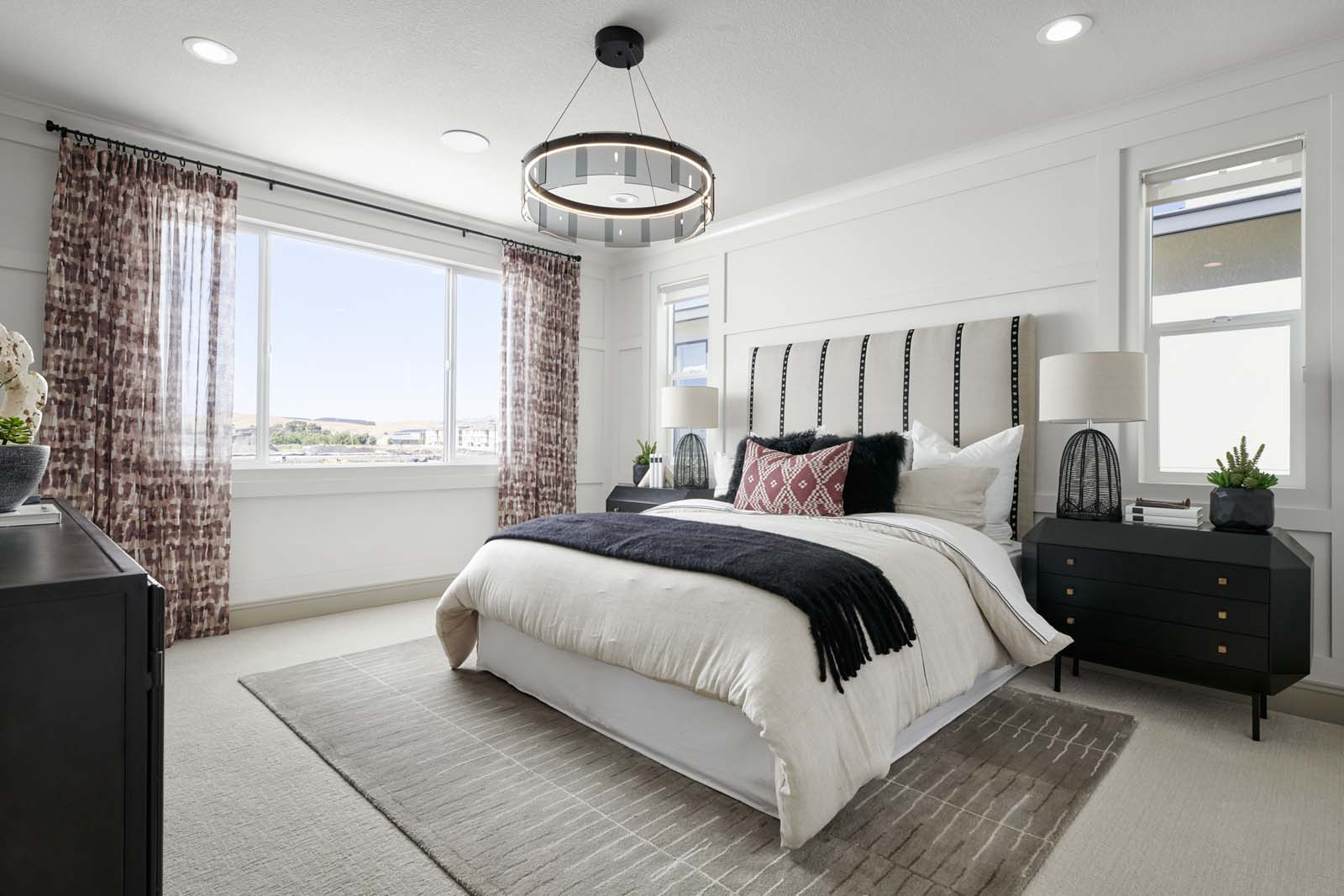 Residence 1 Master Bedroom | Mulholland at Boulevard in Dublin, CA | Brookfield Residential
