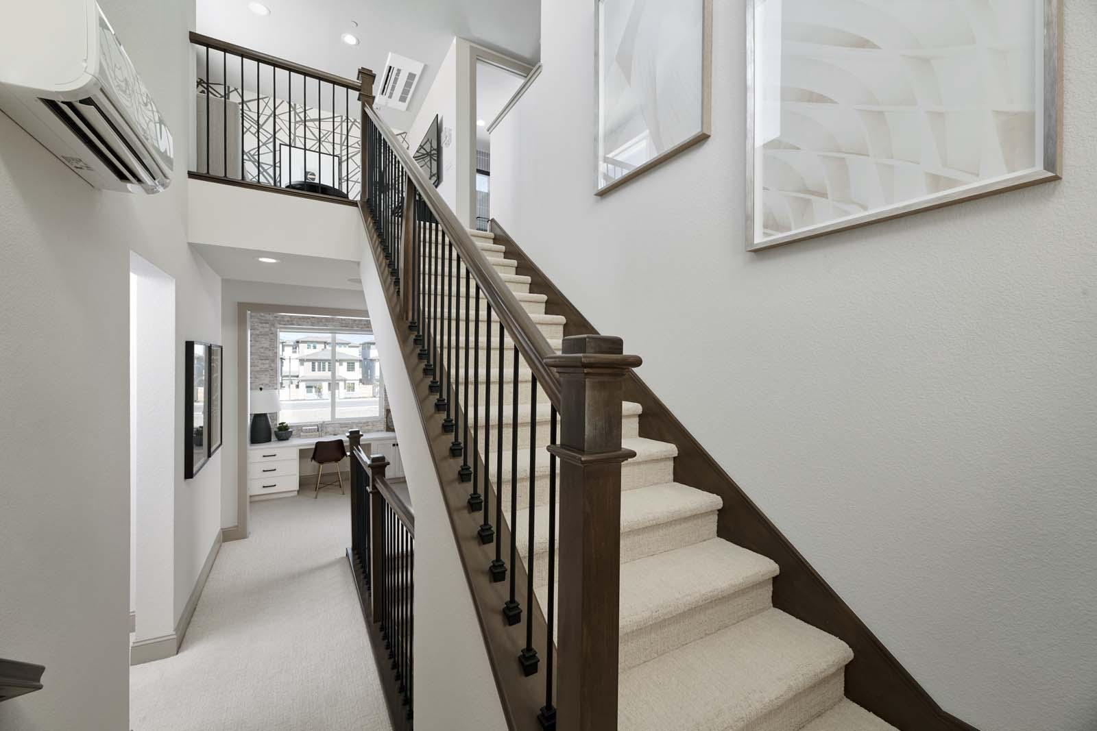 Residence 1 Stairs | Mulholland at Boulevard in Dublin, CA | Brookfield Residential
