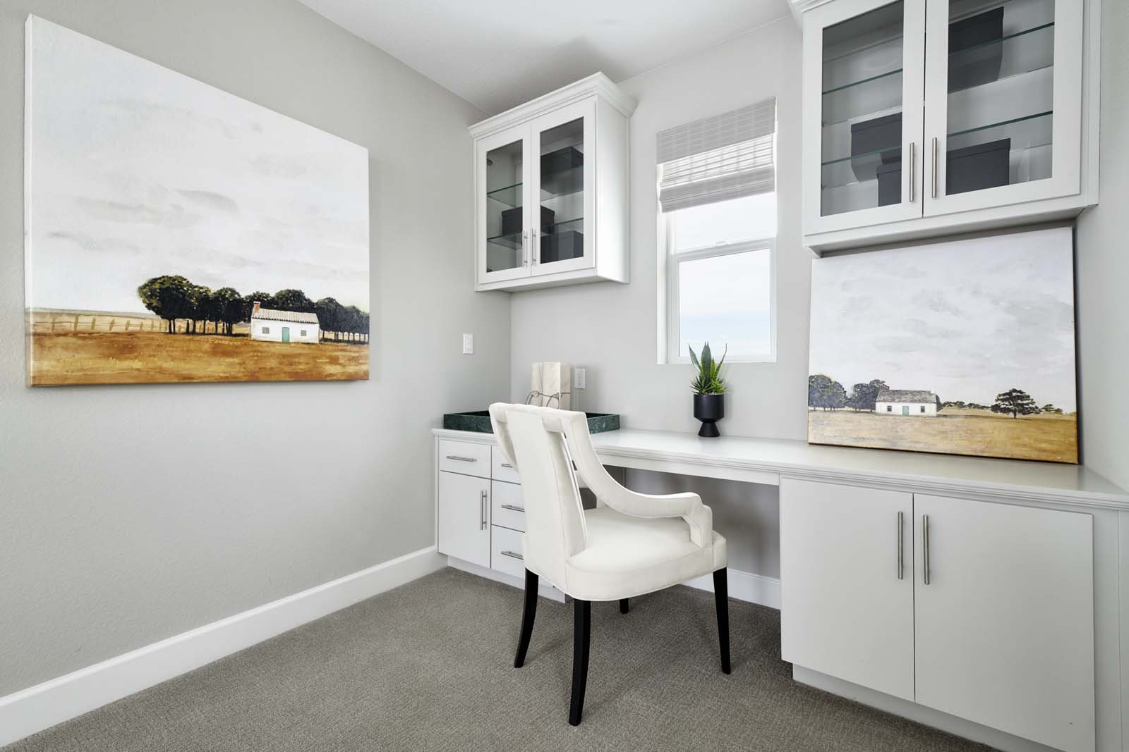 Residence 2 Desk | Mulholland at Boulevard in Dublin, CA | Brookfield Residential