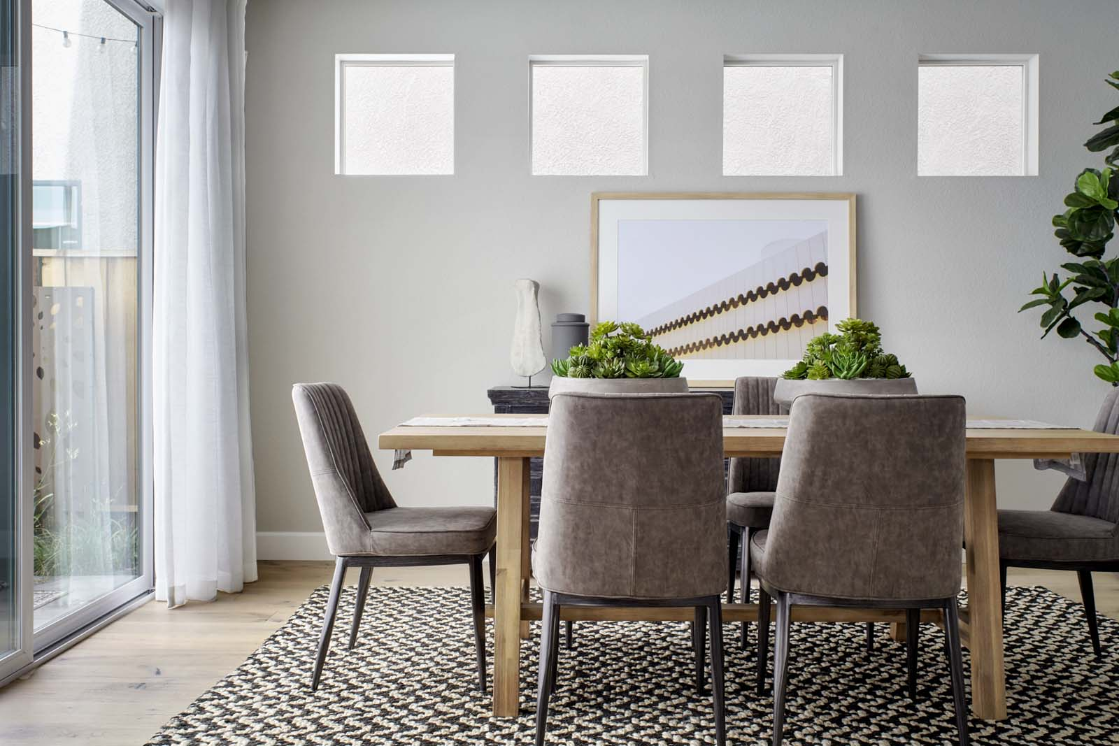 Residence 2 Dining Room | Mulholland at Boulevard in Dublin, CA | Brookfield Residential
