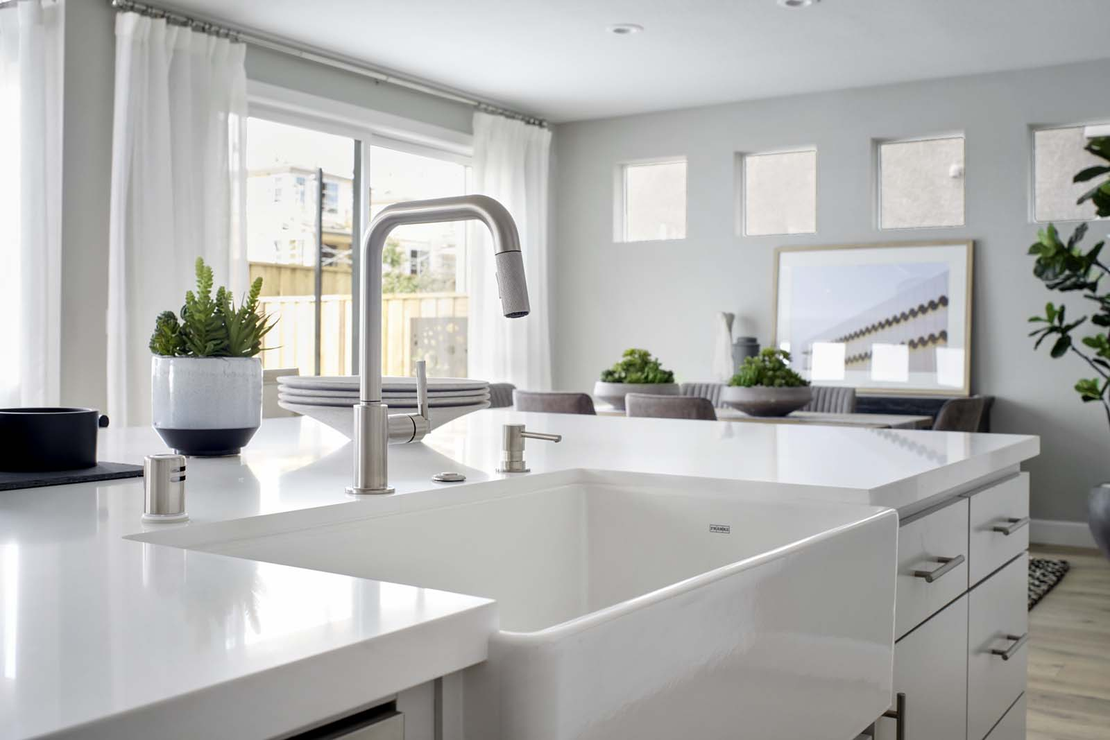 Residence 2 Kitchen | Mulholland at Boulevard in Dublin, CA | Brookfield Residential