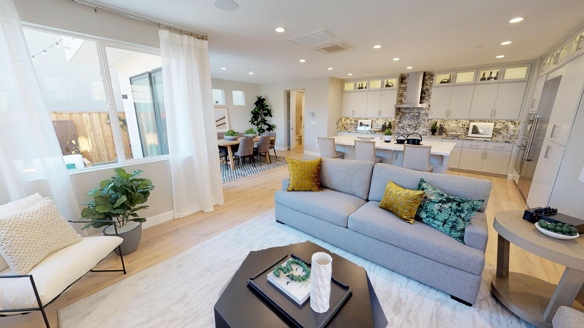 Residence 2 Virtual Tour | Mulholland at Boulevard in Dublin, CA | Brookfield Residential