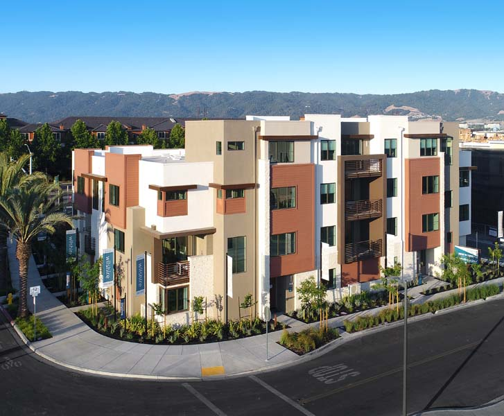 Exterior | Wilshire at Boulevard in Dublin, CA | Brookfield Residential