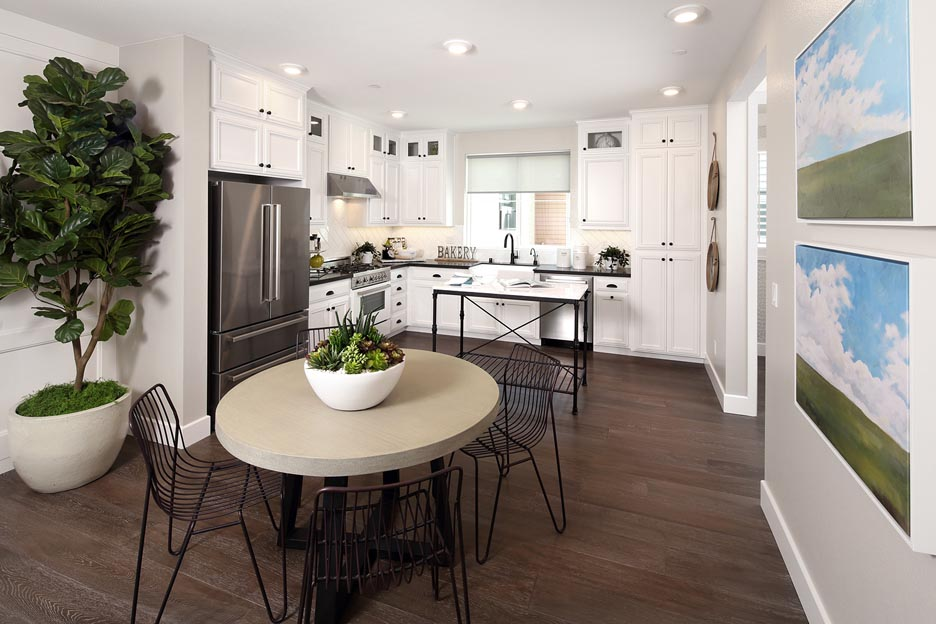 Residence 2A Kitchen | Wilshire at Boulevard in Dublin, CA | Brookfield Residential