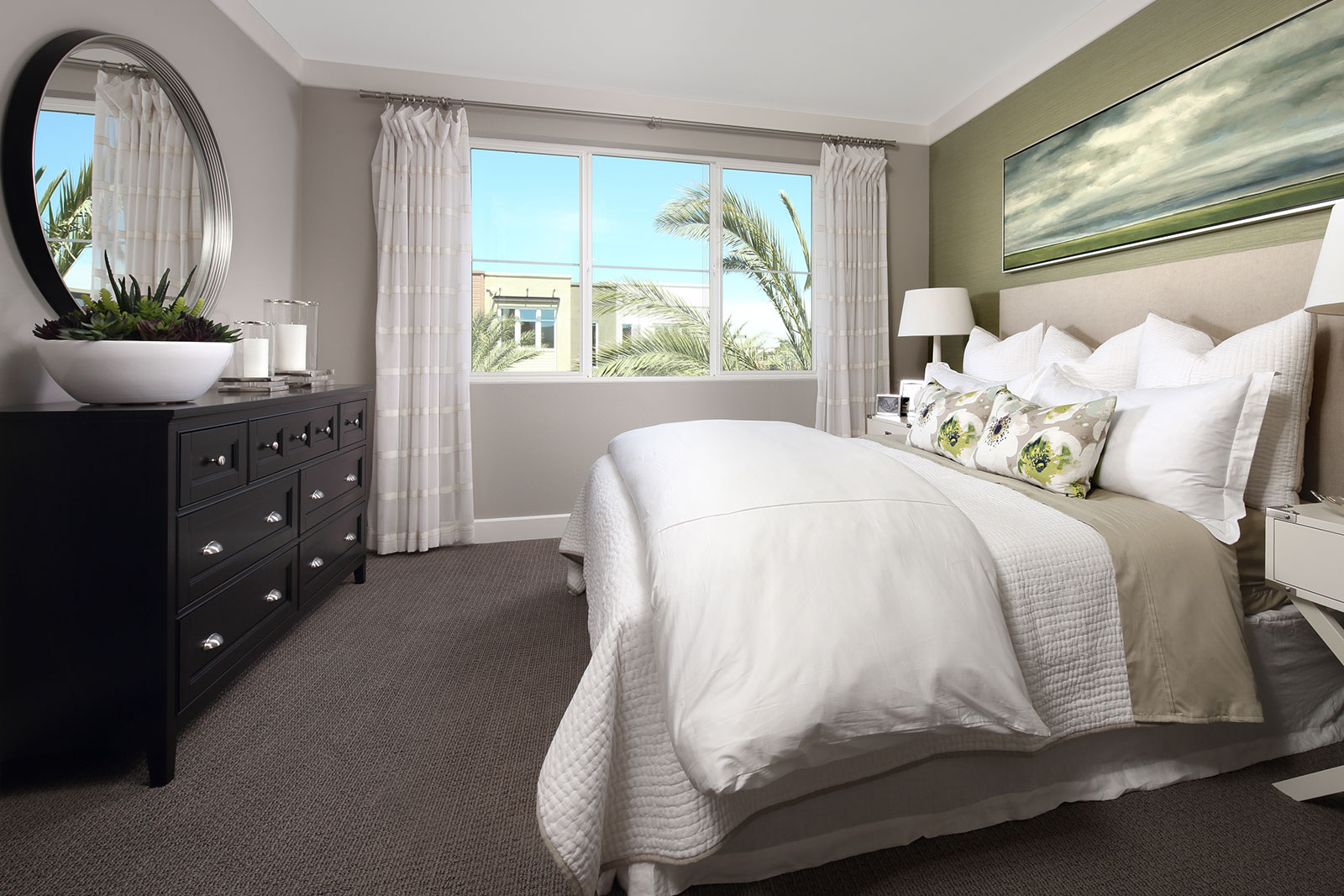 Residence 2A Master Bedroom | Wilshire at Boulevard in Dublin, CA | Brookfield Residential