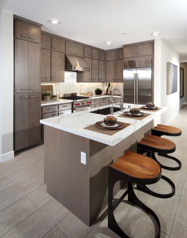 Residence 6 Kitchen | Wilshire at Boulevard i n Dublin, CA | Brookfield Residential