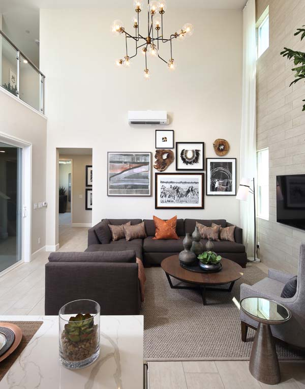 Residence 6 Living Room | Wilshire at Boulevard i n Dublin, CA | Brookfield Residential