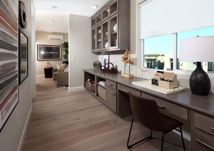 Residence 6 Study | Wilshire at Boulevard i n Dublin, CA | Brookfield Residential