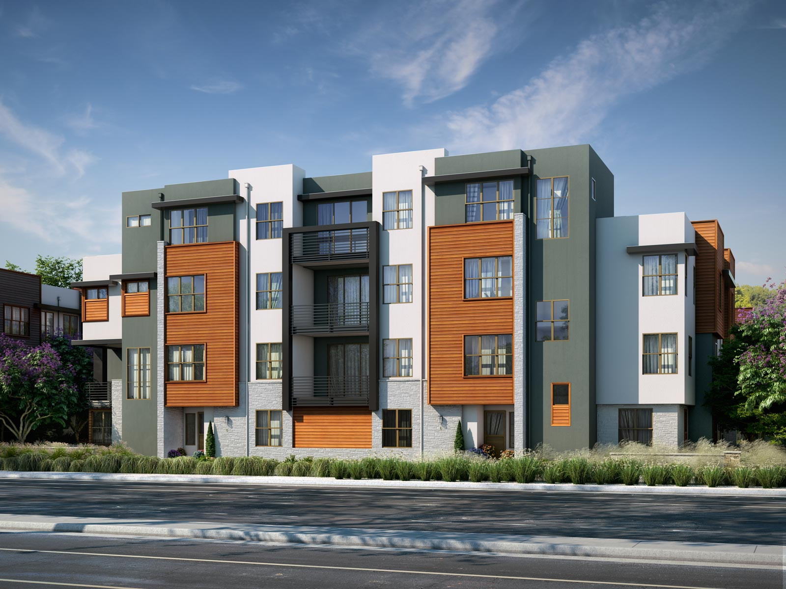 Exterior Color 2 | Wilshire at Boulevard in Dublin, CA | Brookfield Residential