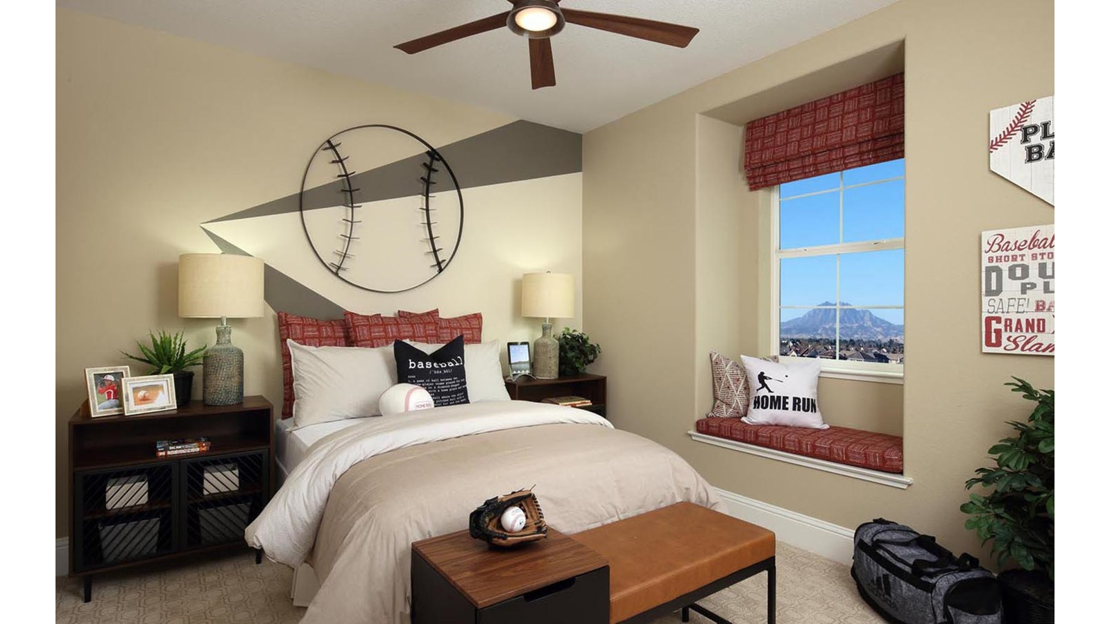 Bedroom Residence 1 Easton Delaney Park New homes in Oakley CA Brookfield Residential