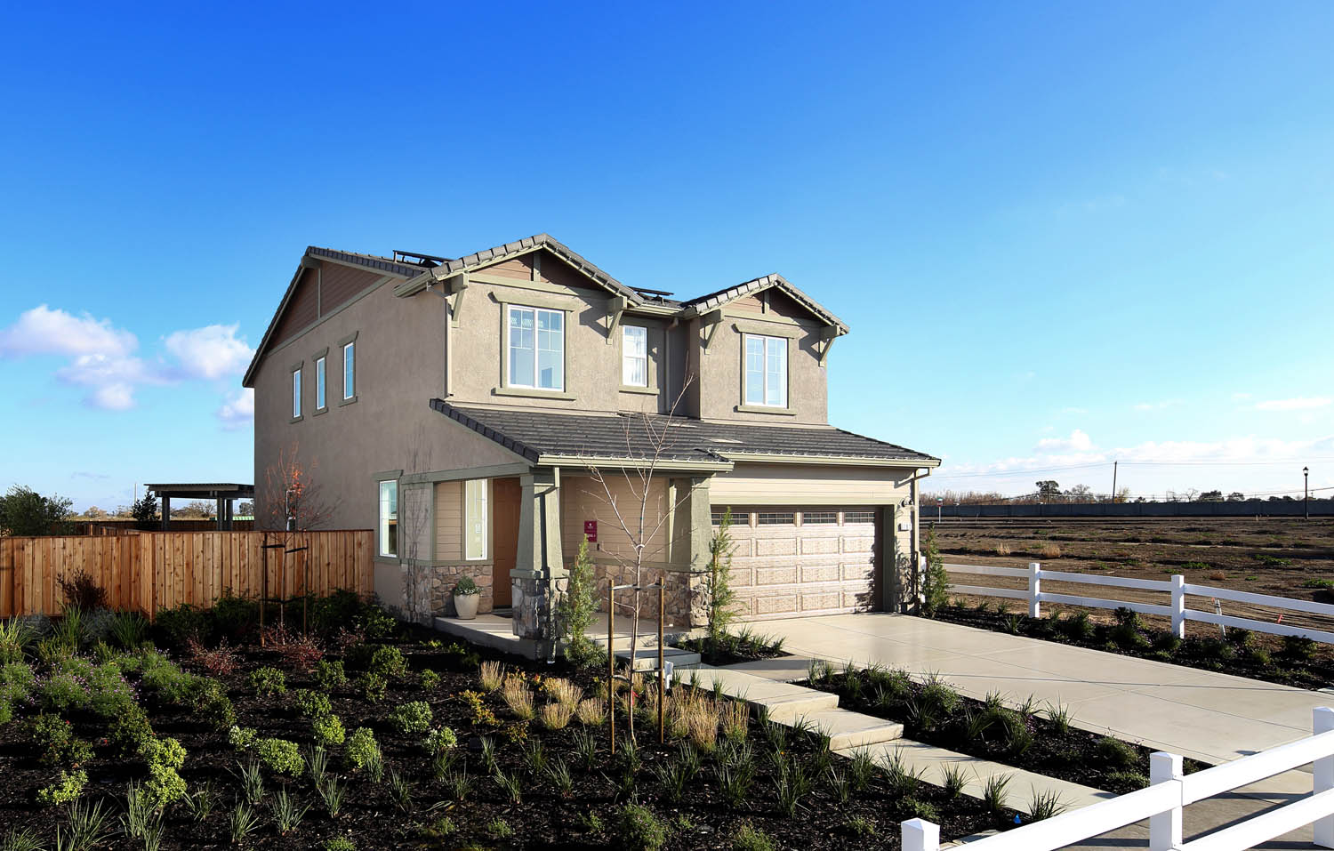 Residence 3 Exterior | Easton | New Homes in Oakley, CA | Brookfield Residential