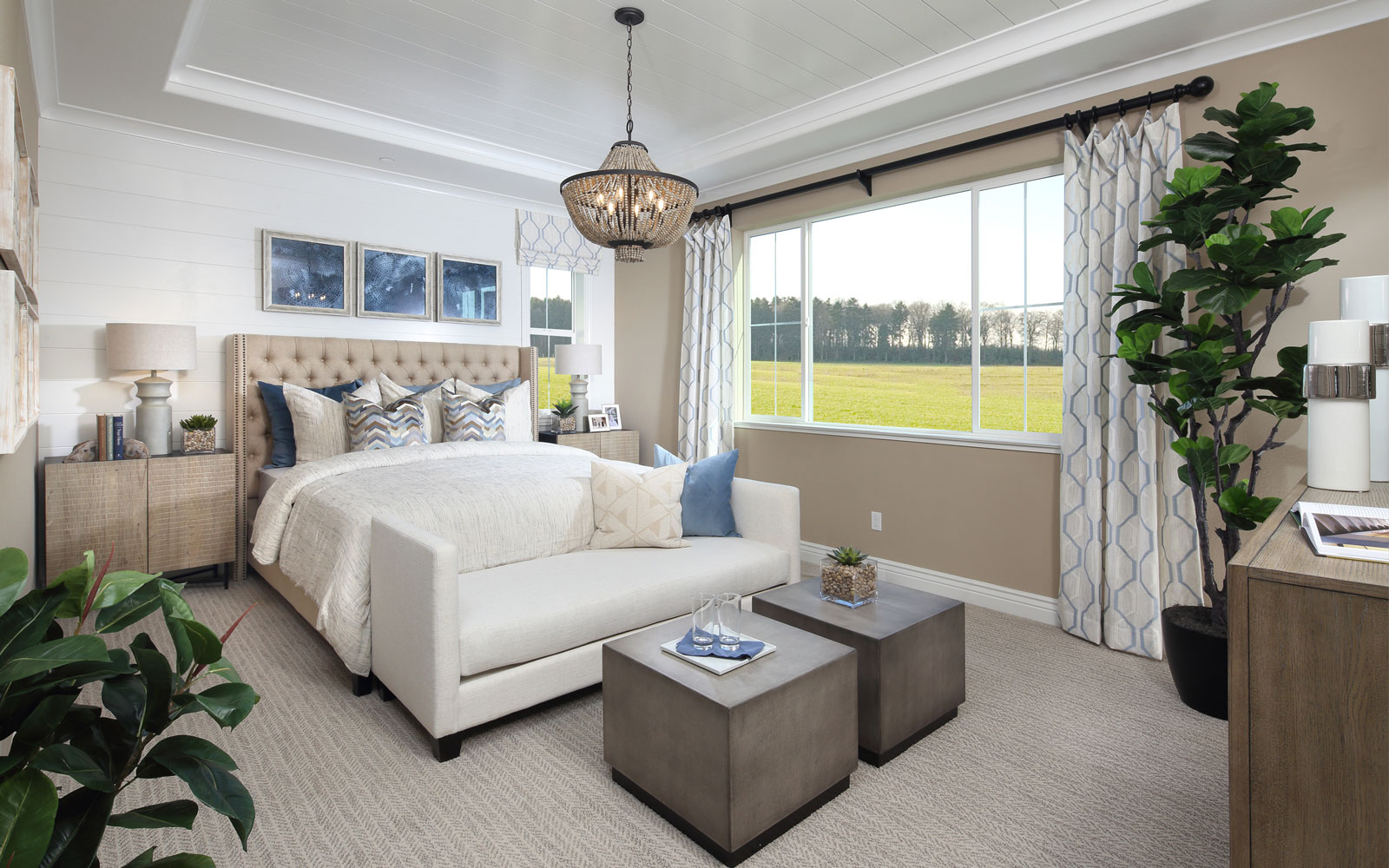 Master Bedroom | Residence 2 | Easton at Delaney Park in Oakley, CA | Brookfield Residential