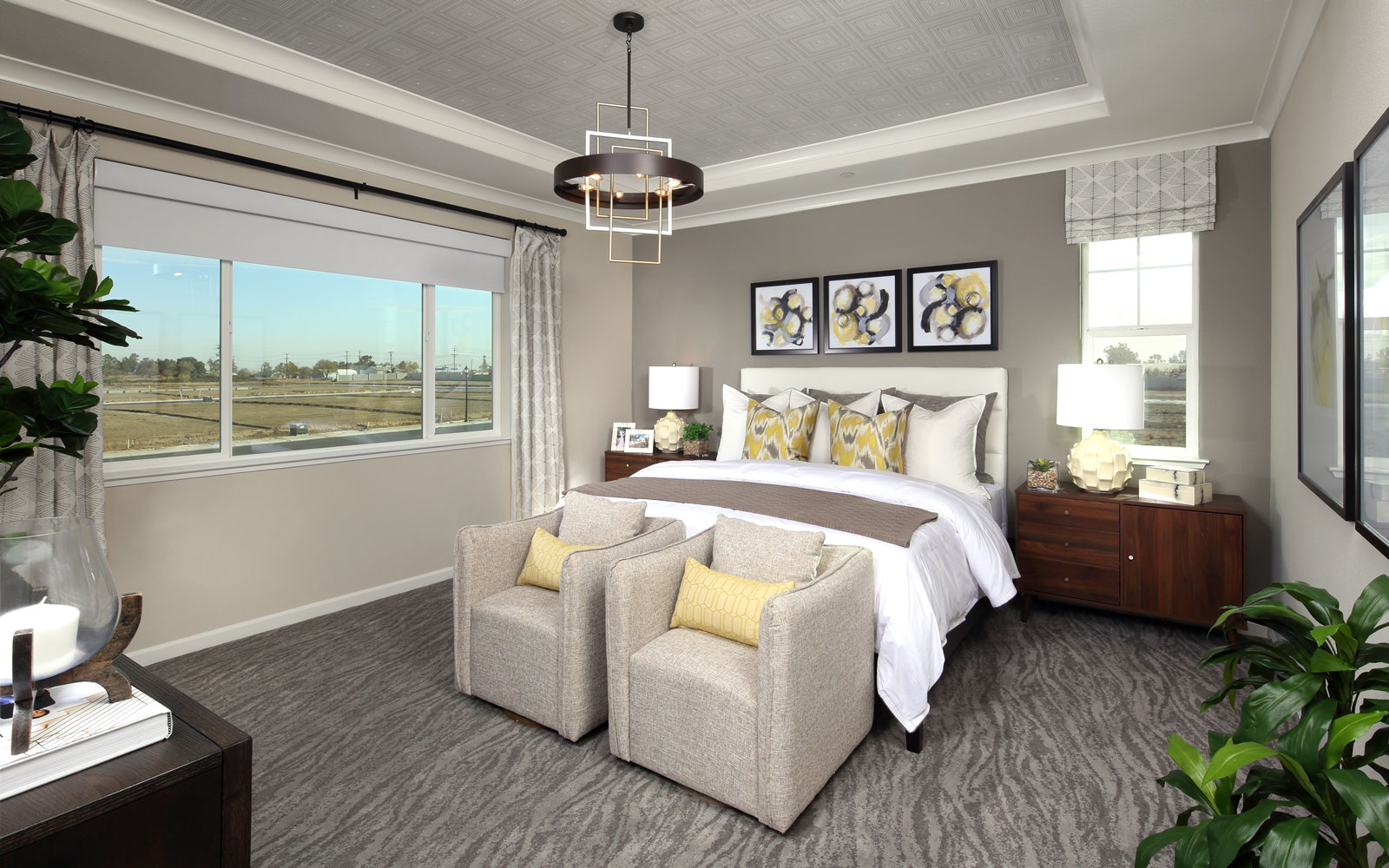 Master Bedroom | Residence 3 | Easton at Delaney Park in Oakley, CA | Brookfield Residential