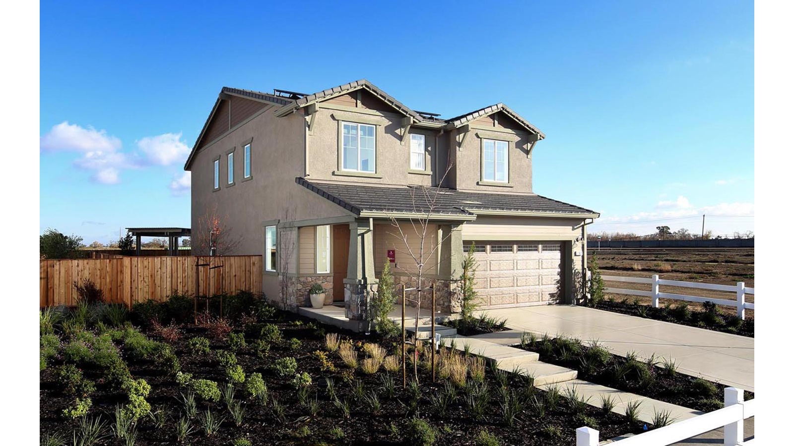 Exterior 1 Easton Delaney Park New homes in Oakley CA Brookfield Residential