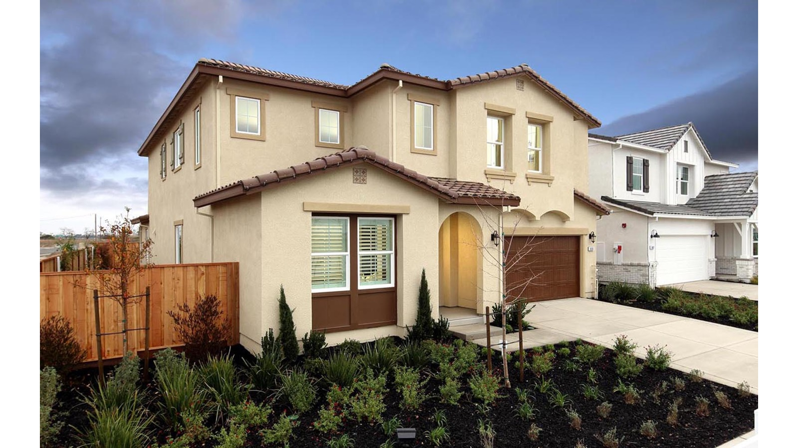 Exterior 1 Southport Delaney Park New homes in Oakley CA Brookfield Residential